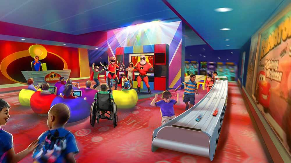 Pixar Play Zone Is Open for Reservations at Disney's Contemporary Resort