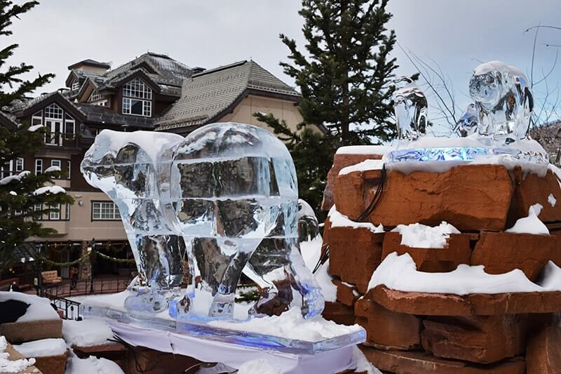 Family Insider's Guide to Beaver Creek Colorado - Ice Sculpture