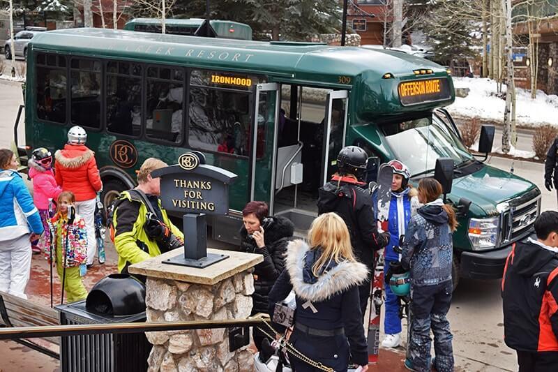 Family Insider's Guide to Beaver Creek Colorado - Shuttle