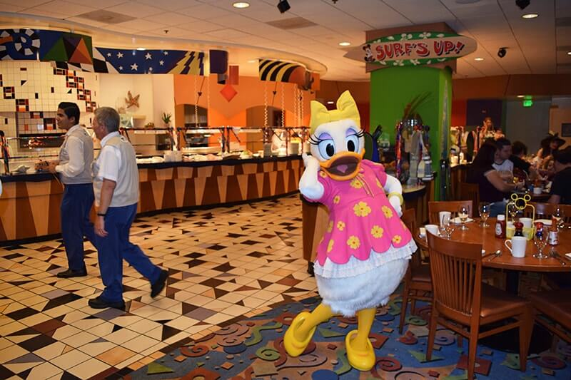 Guidelines for Healthy Eating at Disneyland - Character dining