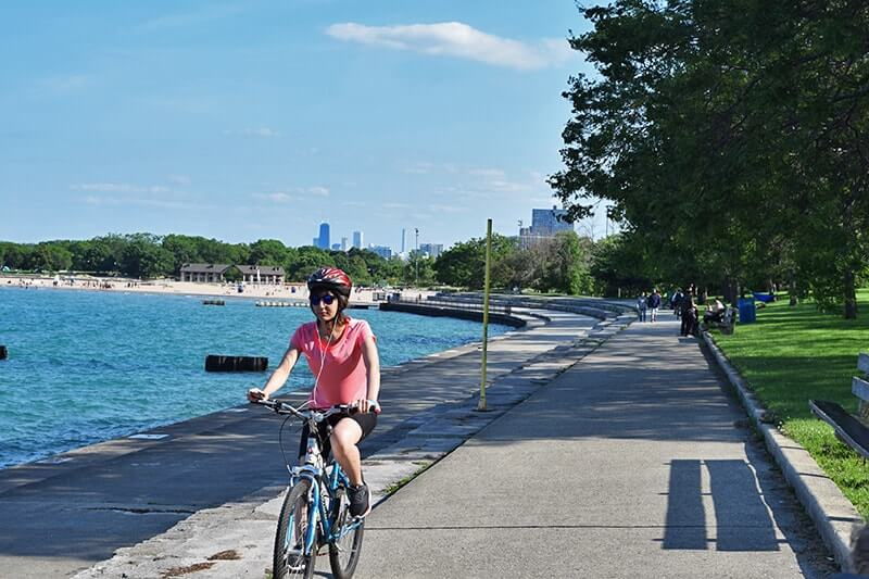 Tips for Visiting Chicago with Kids - Bike Riding