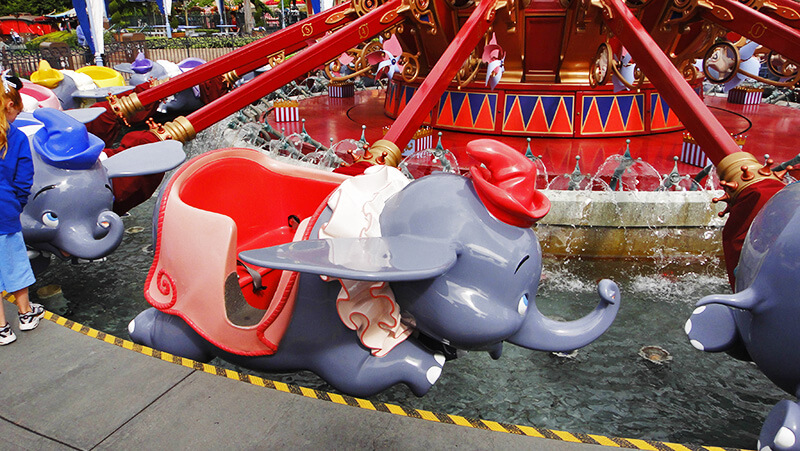 The Secret History of Disney Rides: Dumbo the Flying Elephant - Dumbo Vehicle