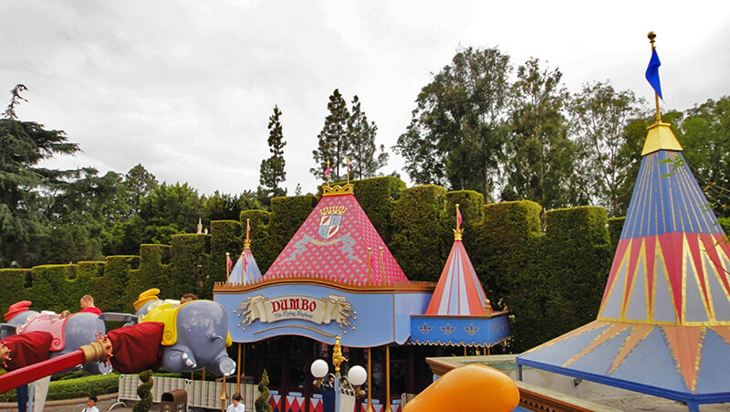 The Secret History of Disney Rides: Dumbo the Flying Elephant - Dumbo Tent