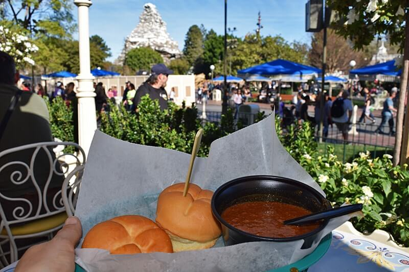 Guidelines for Healthy Eating at Disneyland - Gluten free meal