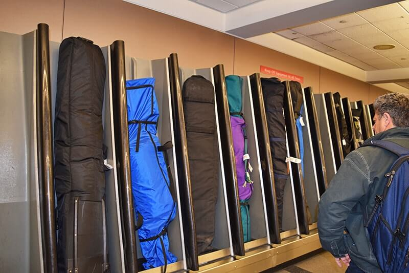 Tips for Flying with Skis - Ski Baggage Claim
