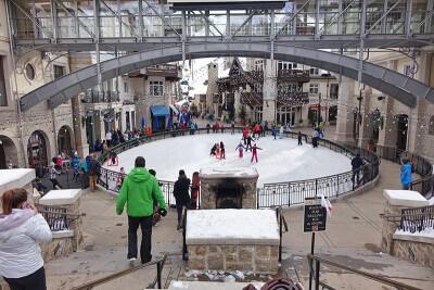 Le migliori stazioni sciistiche in Colorado per le famiglie - Ice Rink