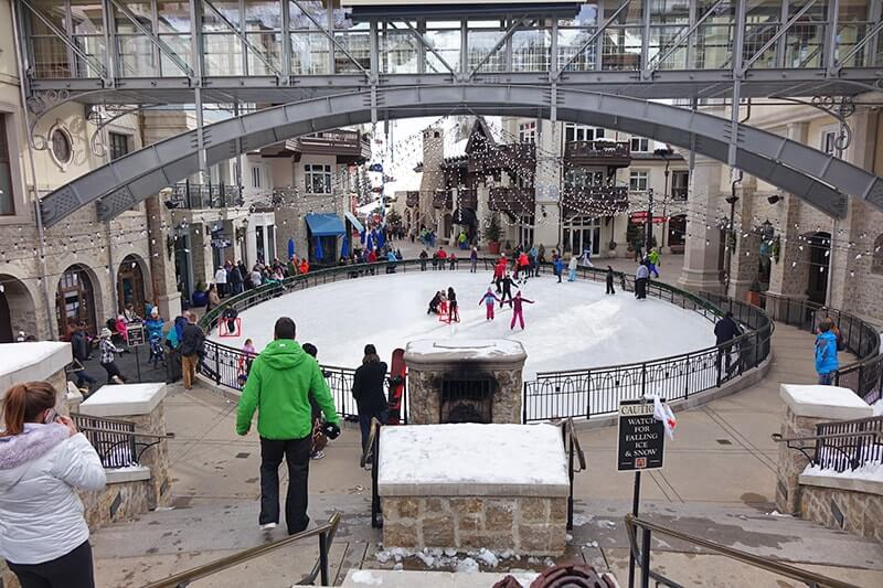 The 7 Best Ski Resorts in Colorado for Families - Ice Rink