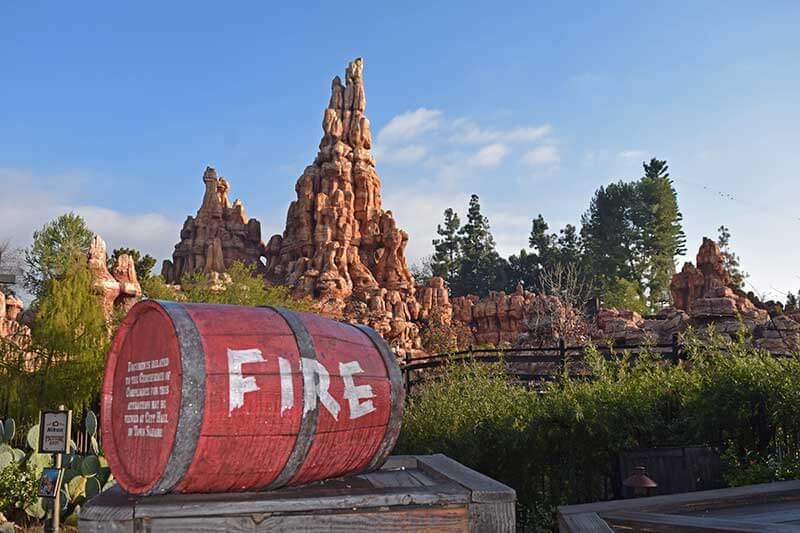 Tips for Disneyland in Summer - Big Thunder Mountain
