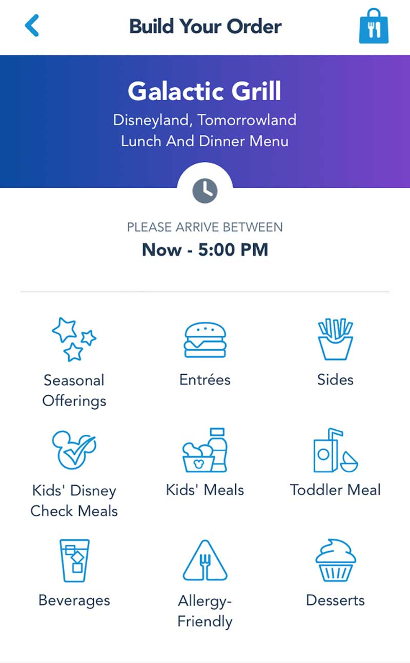 Tips for Disneyland in Summer - Use Mobile Order