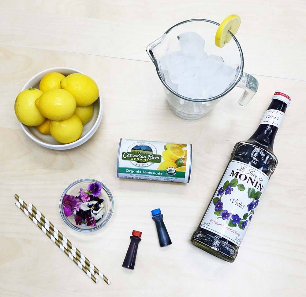 Disney Violet Lemonade Recipe Ingredients