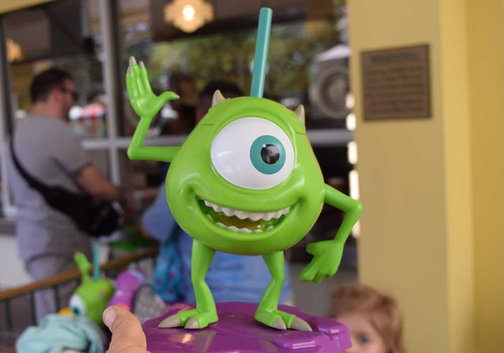 Mike Wazowski Sipper - Disneyland Pixar Fest