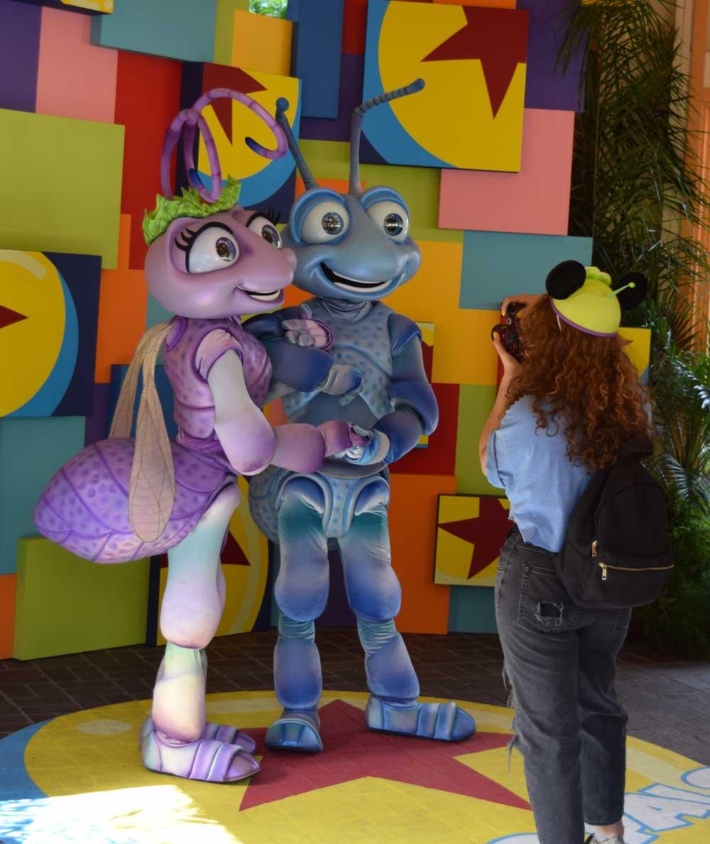 Disneyland Pixar Fest Characters - Bugs Life