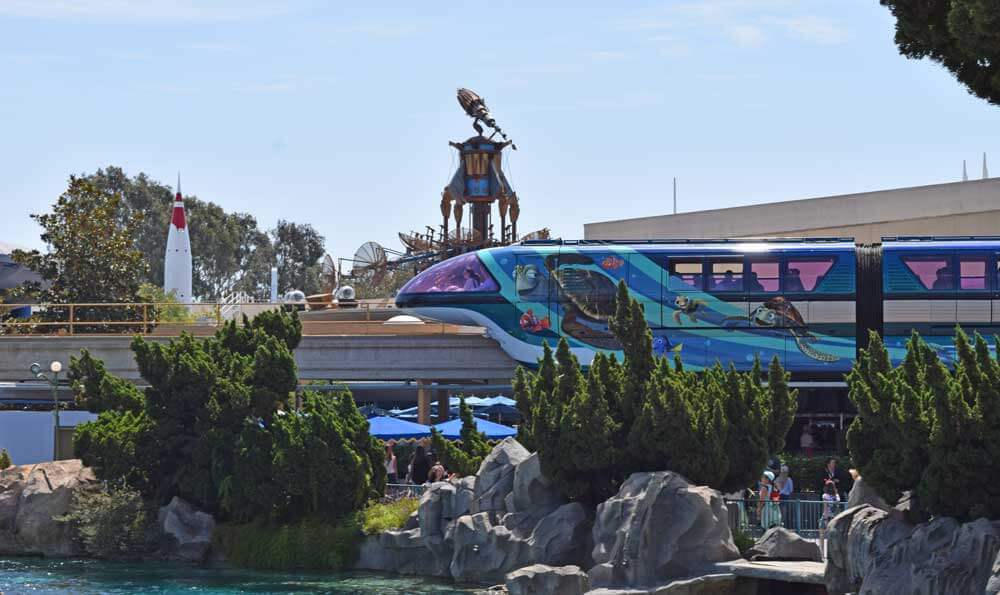 Monorail to Disneyland Pixar Fest