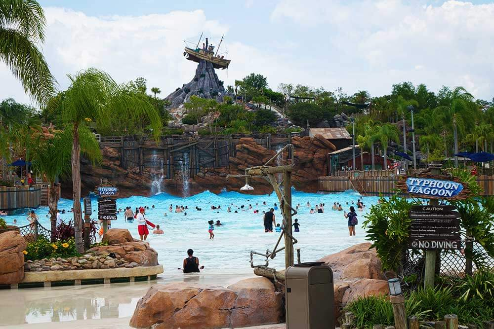Disney's Typhoon Lagoon Water Park - Surf Pool