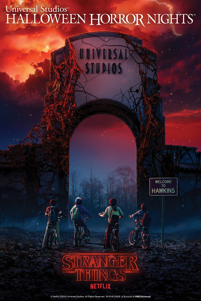 Stranger Things - Halloween Horror Nights