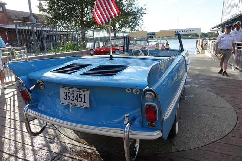 Best Hotels Near Disney Springs - Amphicar at the Boathouse