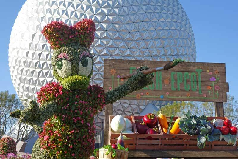 Hotels near Epcot - Epcot during Flower and Garden Festival