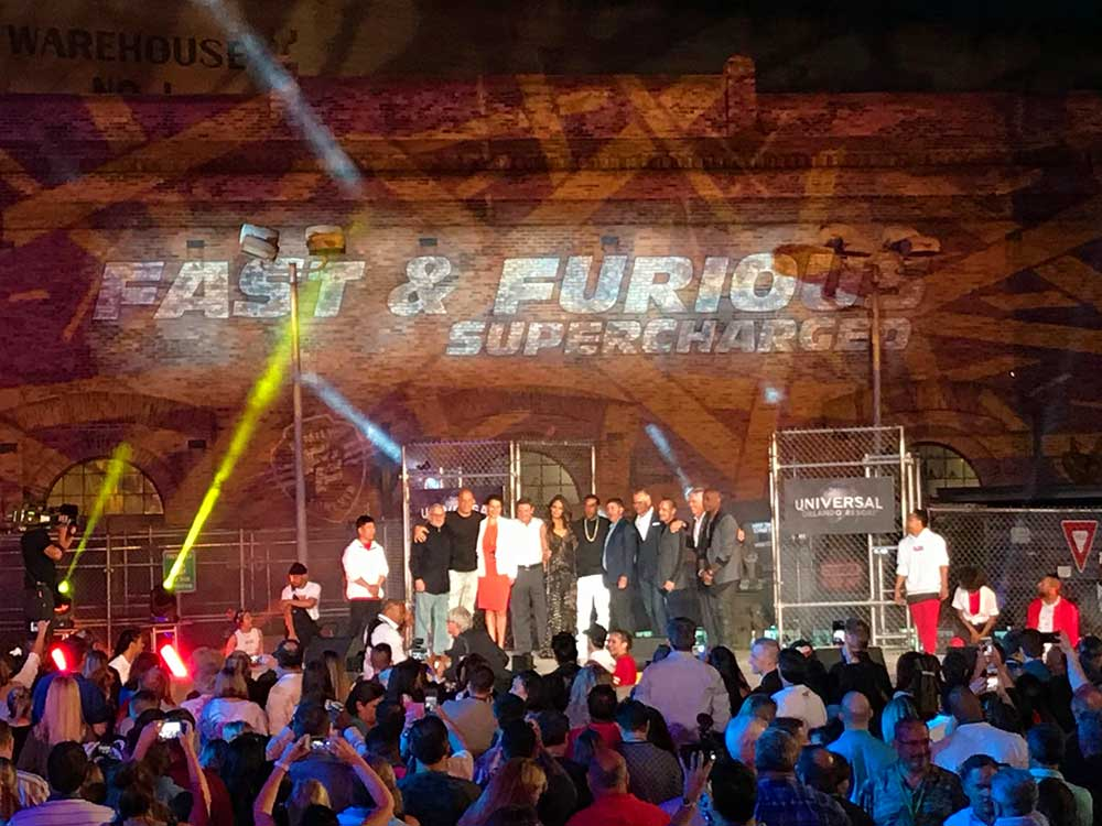 Universal Orlando Celebrates Grand Opening of Fast & Furious — Supercharged