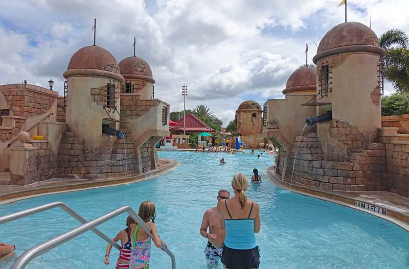 Best Hotels Near Epcot - Disney's Caribbean Beach - Fuentes del Moro Pool