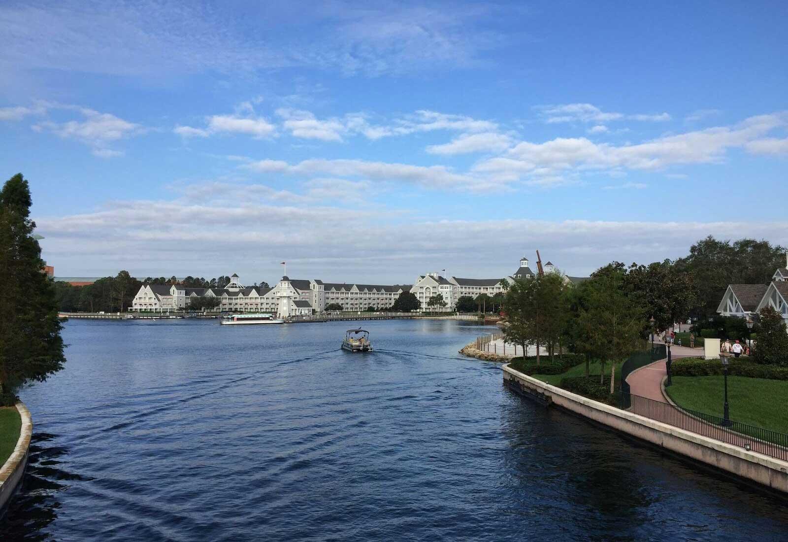 Hotels near Epcot - Boat Transportation