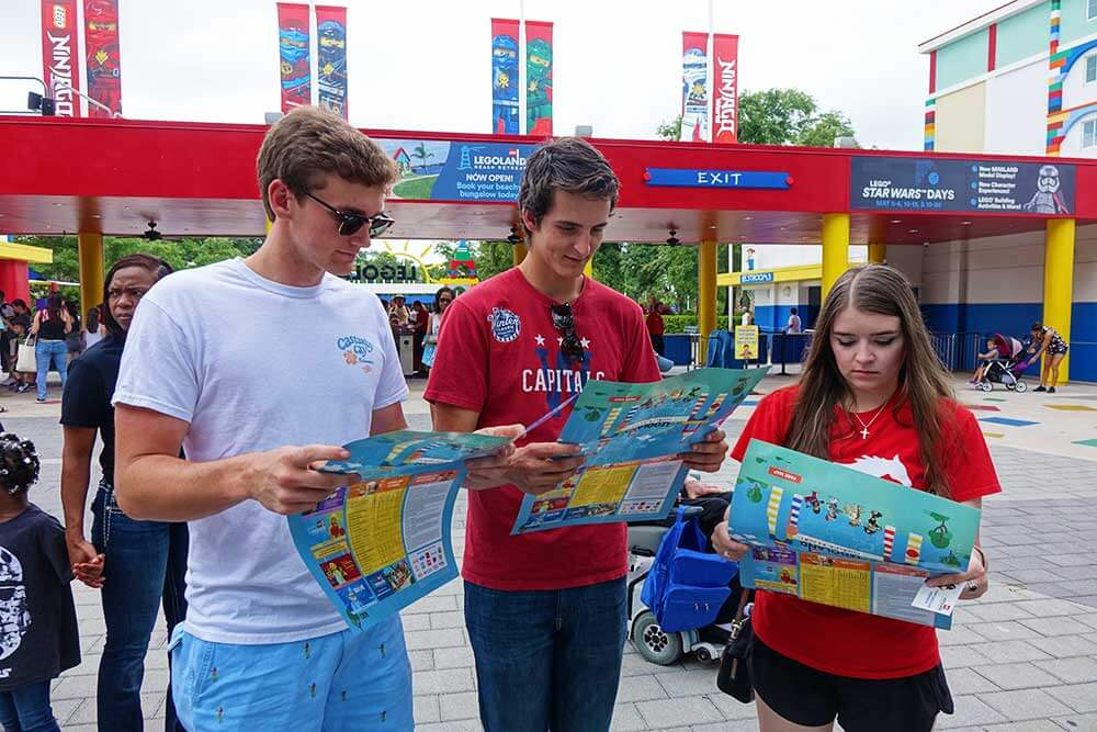 Legoland Map Florida.The Awesome Insider S Guide To Legoland Florida