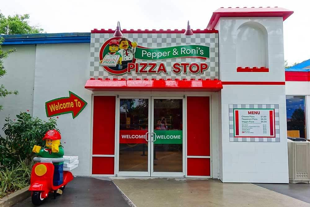 LEGOLAND Florida - Pizza Stop