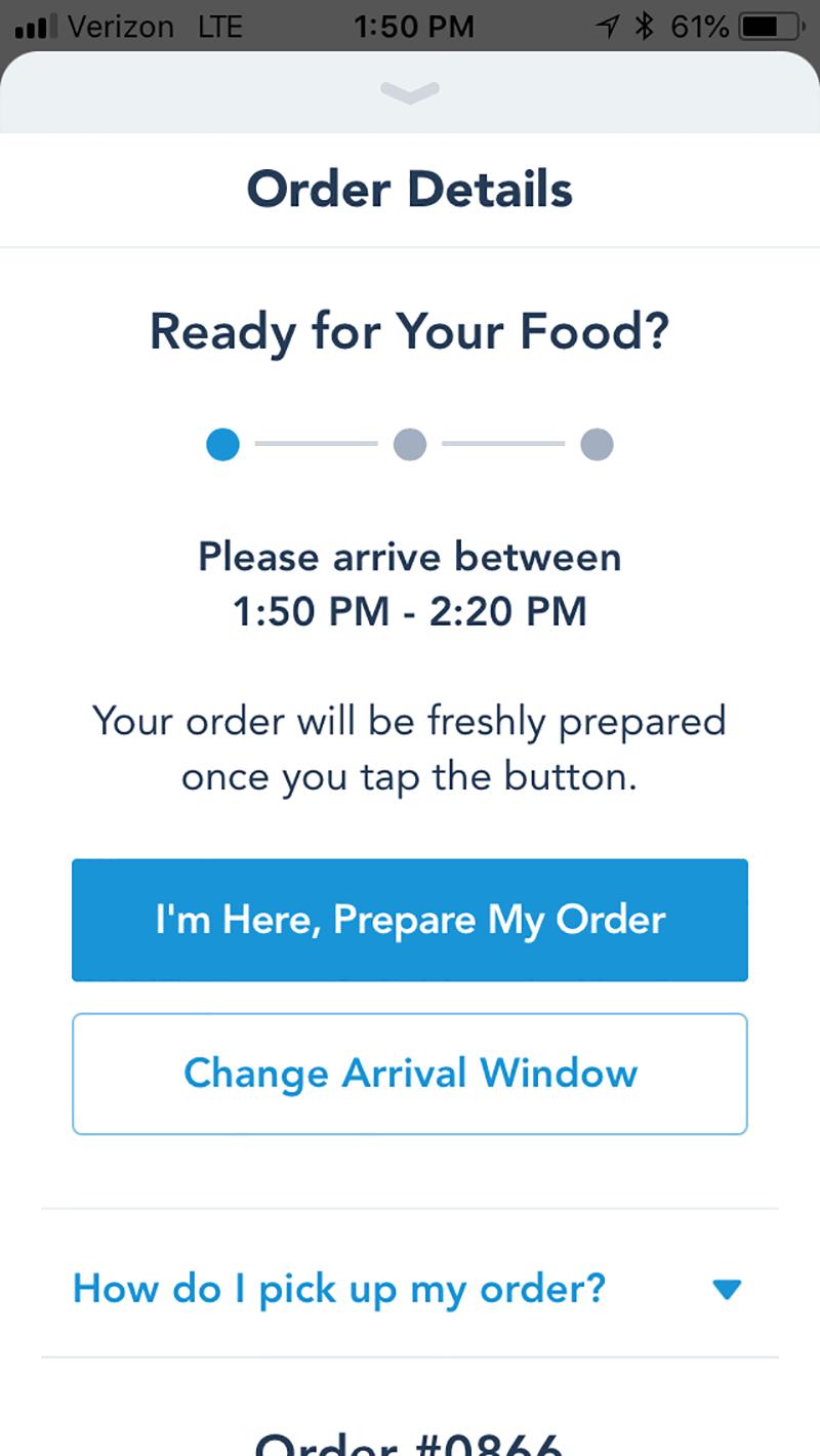 Getting the Scoop on Disneyland Mobile Ordering Service- Screenshot