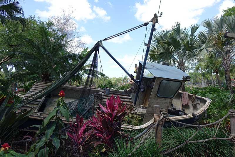 Typhoon Lagoon Water Park - Shipwreck