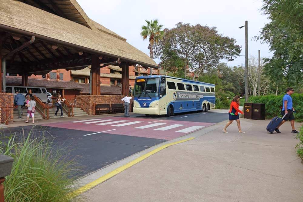 Disney's Magical Express at Disney's Animal Kingdom Lodge