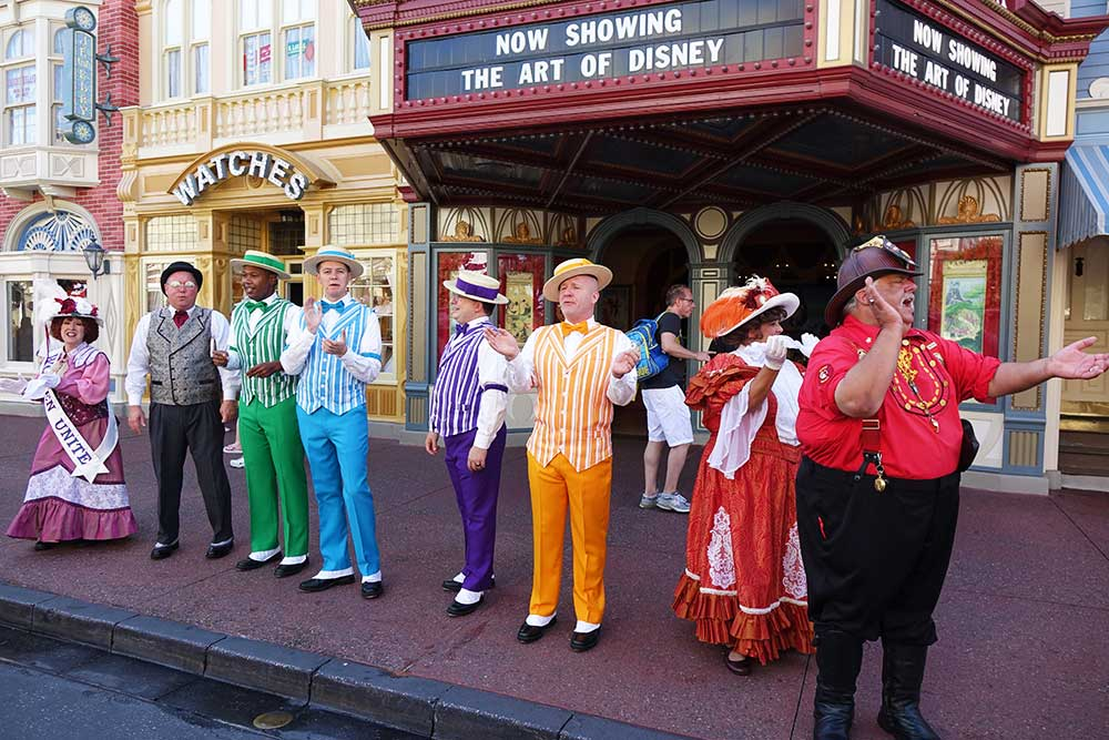 Thanksgiving at Disney World - Main Street