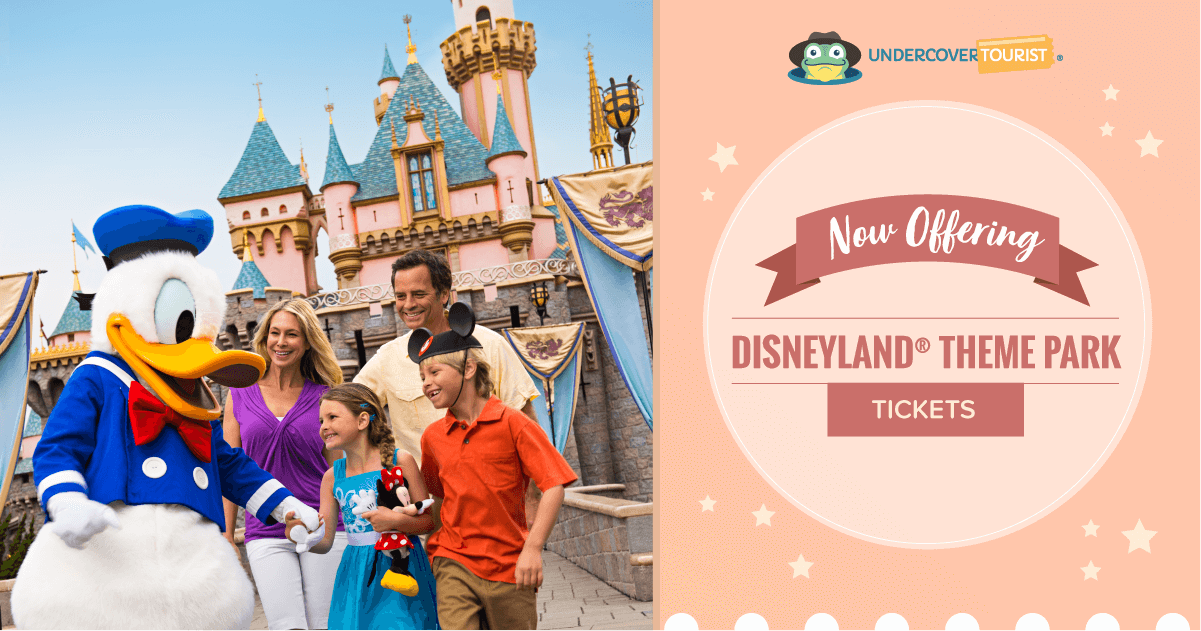 Undercover Tourist Is Now Selling Disneyland Tickets!