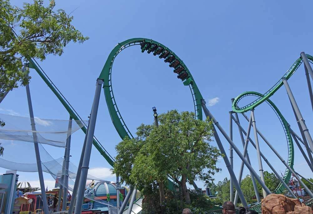 When to Use Universal Express - Incredible Hulk Coaster - Save Time at Theme Parks