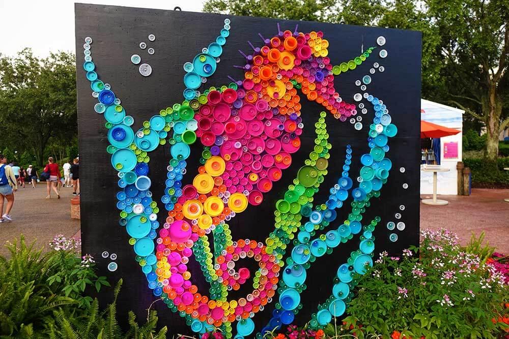 Sea World Orlando Electric Ocean - Seahorse Art