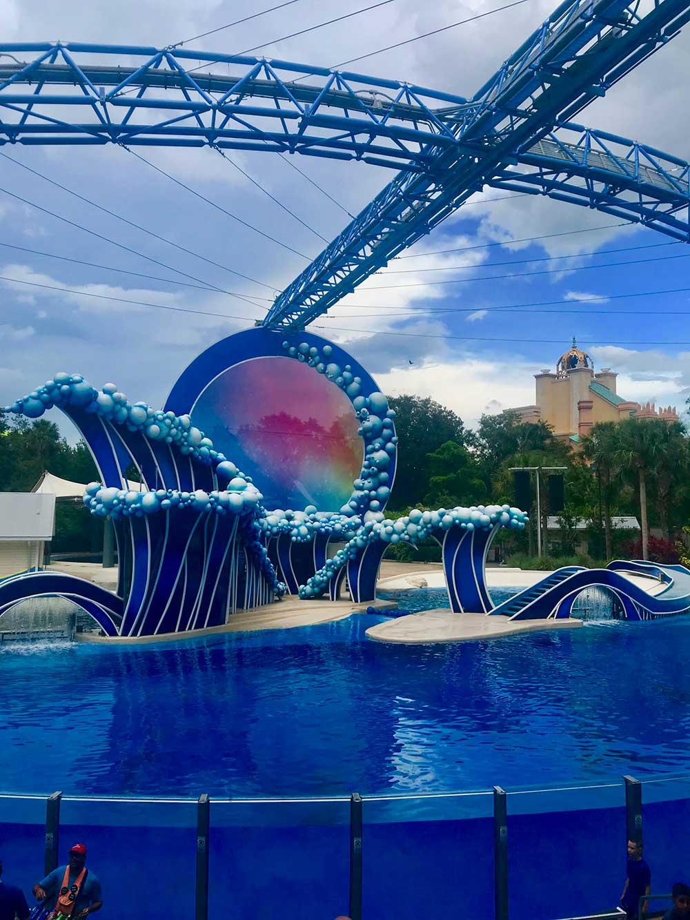 Sea World Orlando Electric Ocean - Touch the Sky