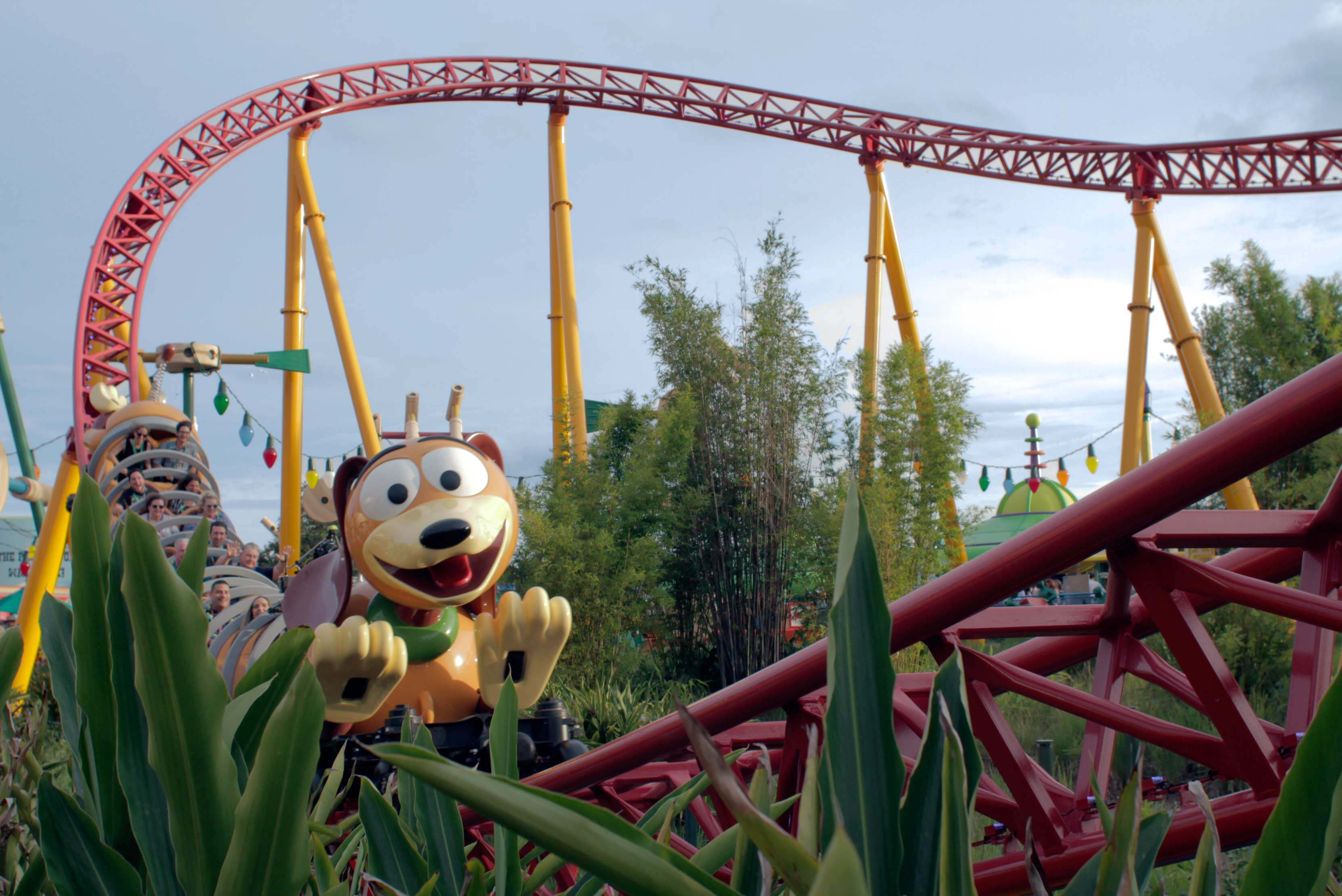 Slinky Dog Dash at Toy Story Land at Disney's Hollywood Studios