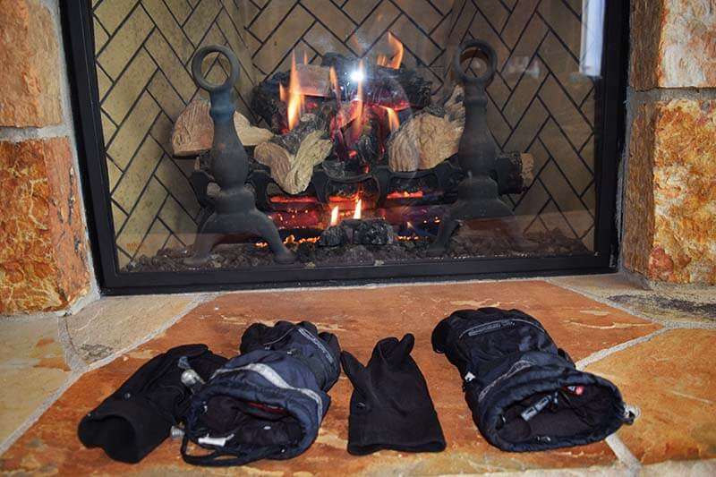 Our Top Tips for Managing Ski Gear on a Trip - Drying gloves