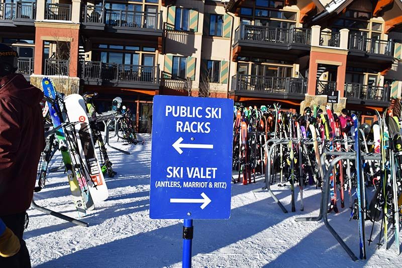 Our Top Tips for Managing Ski Gear on a Trip - Ski valet