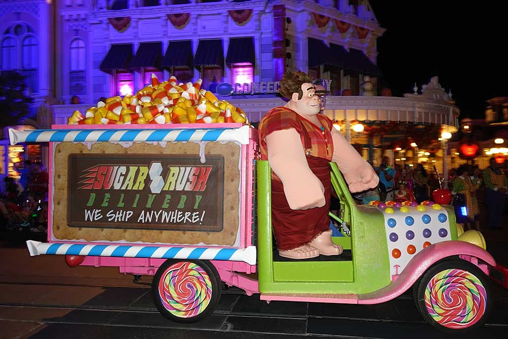 Mickey's Not So Scary Halloween Party 2018 - Wreck-It Ralph