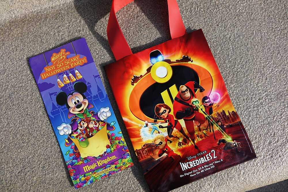 mickeys not so scary halloween party 2018 treat bag