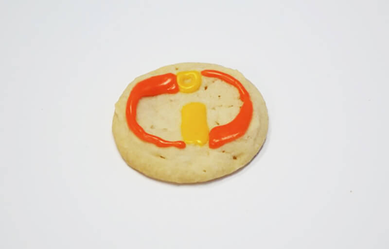 Incredibles Cookie Decorating Tutorial