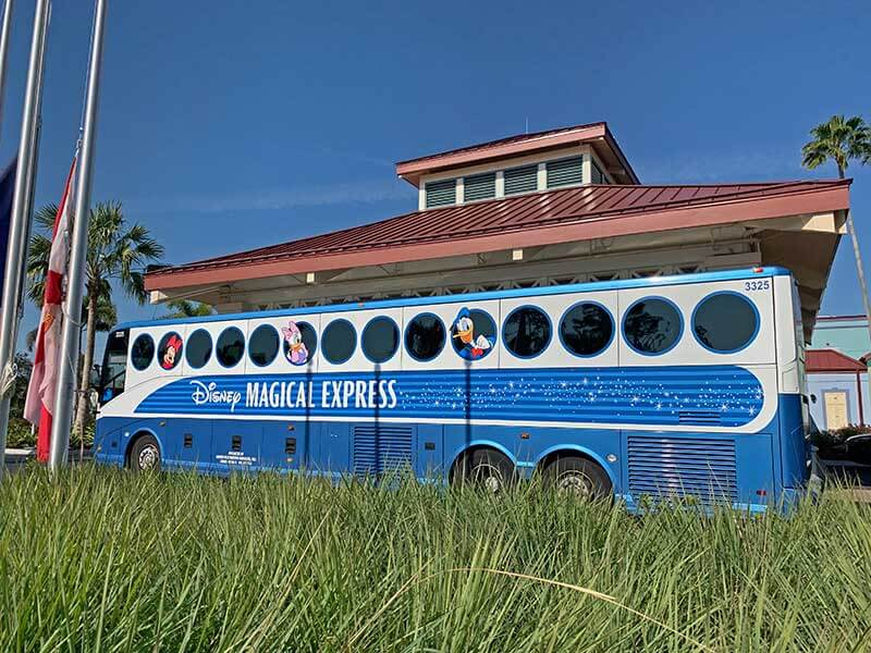 Disney Magical Express - Caribbean Beach Station
