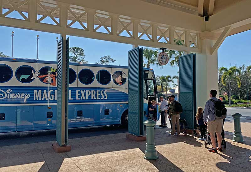 Disney Magical Express Loading