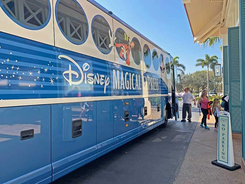 Disney Magical Express Unloading