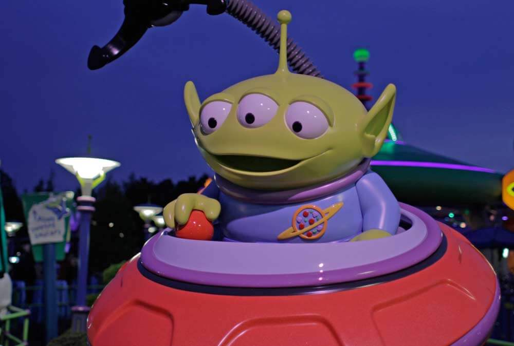 Alien Swirling Saucers - Toy Story Land at Disney's Hollywood Studios