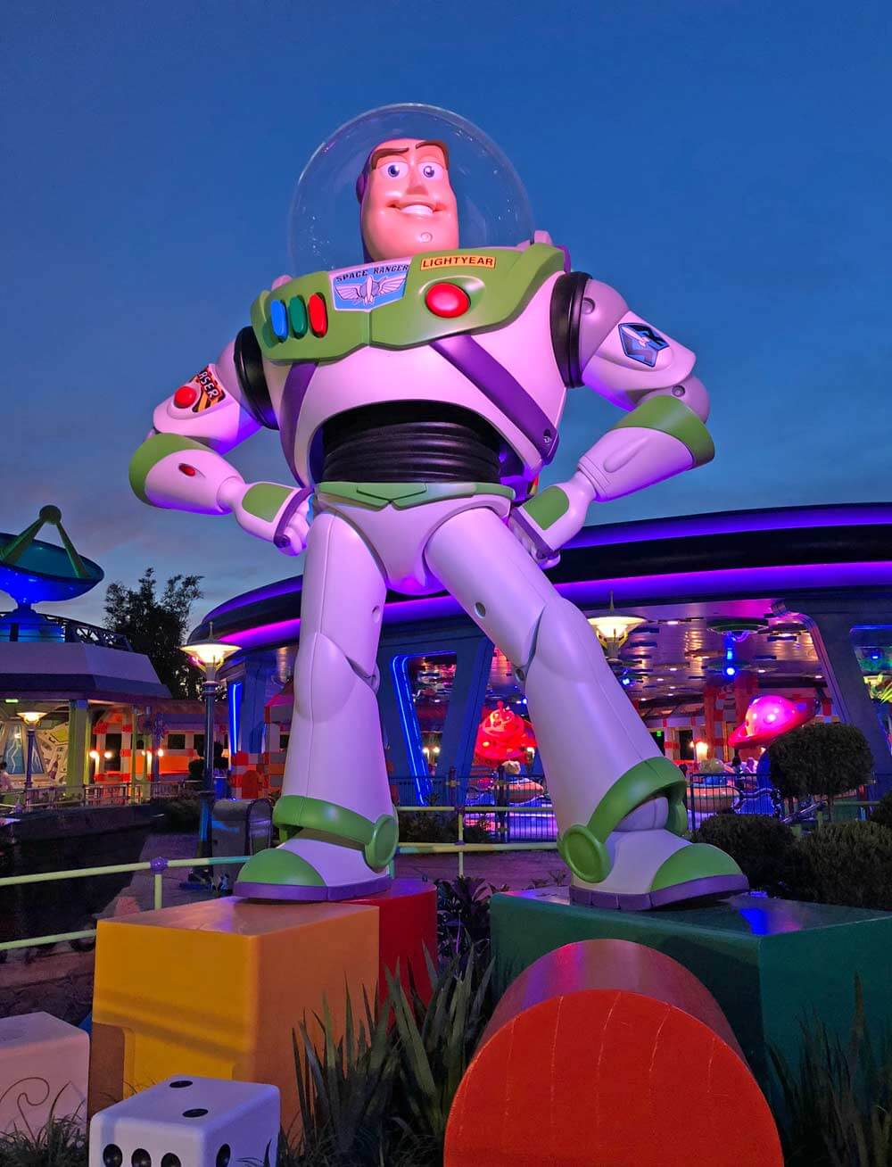 Buzz Lightyear at Toy Story Land at Disney's Hollywood Studios