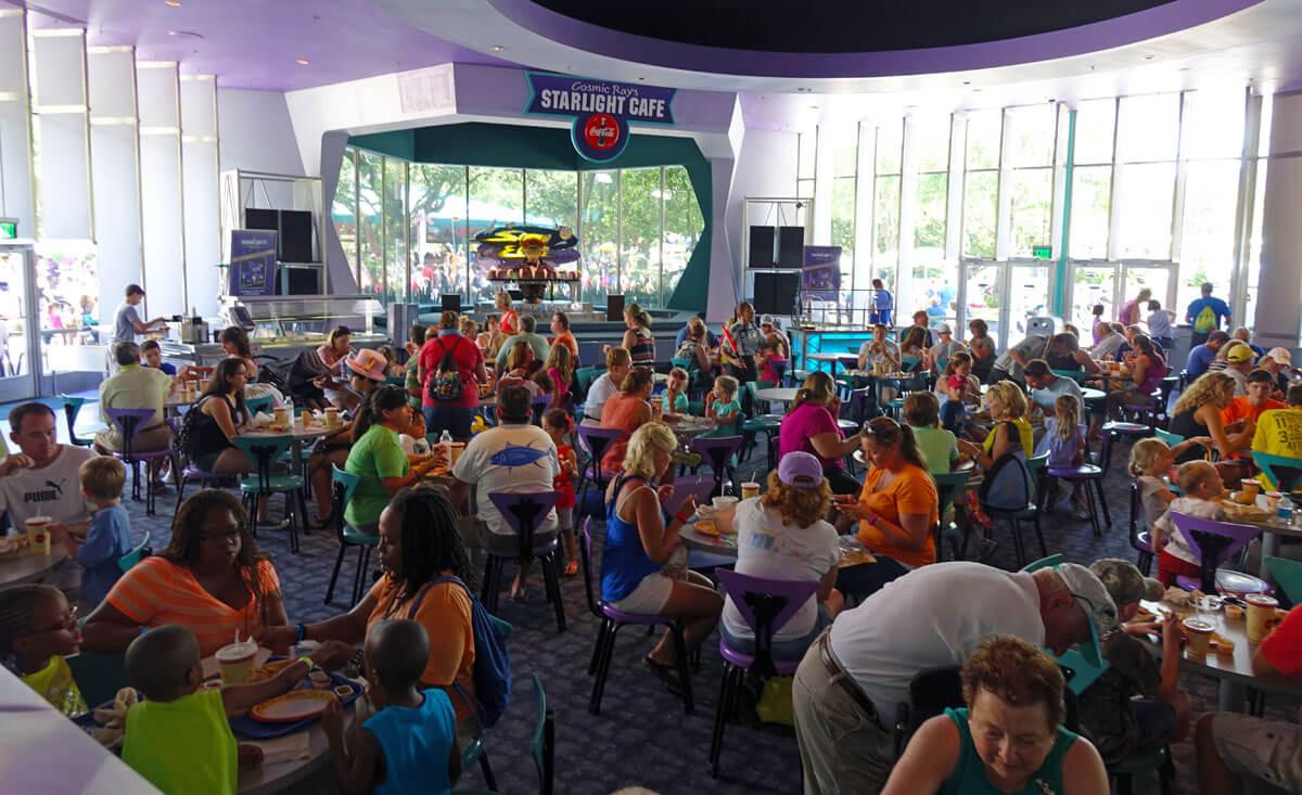 Magic Kingdom Quick Service Restaurants - Cosmic Rays
