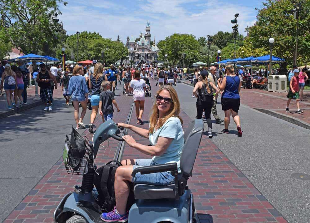 Using a Wheelchair at Disneyland
