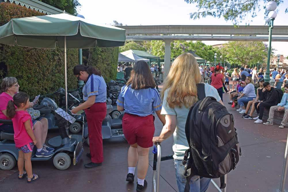 Using a Wheelchair at Disneyland - ECV and Wheelchair Rental