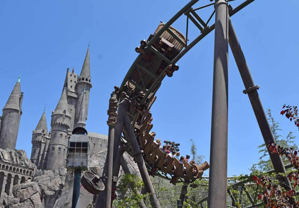 Universal Studios Hollywood Top Rides - Flight of the Hippogriff