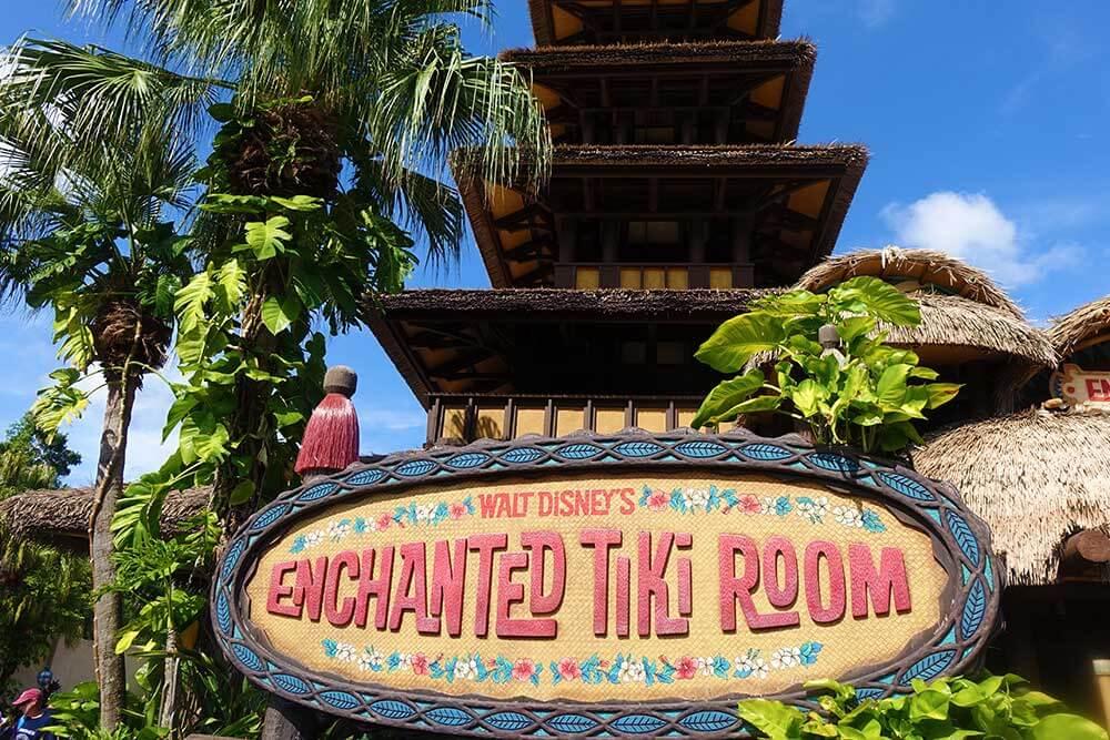 Magic Kingdom Hidden Gems - Tiki Room